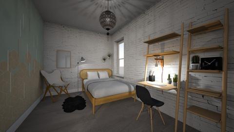 Living1 - Minimal - Bedroom  - by PeculiarLeah
