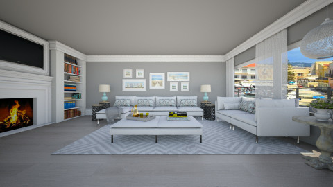 Panorama  Ground Floor - Living room  - by crosette