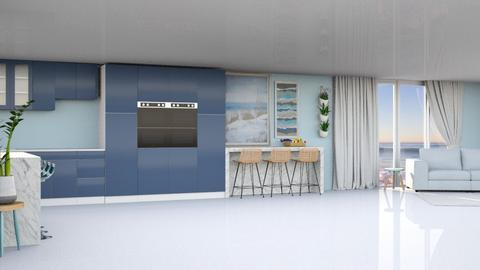 Ocean - Minimal - Kitchen  - by kaede11