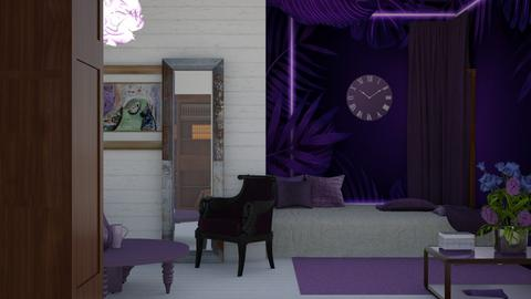 Eclectic INfushi - Bedroom  - by FURFUR