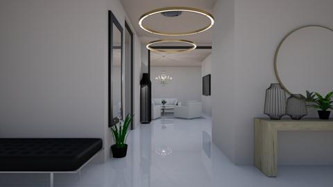 hallway - by sandyelenadia
