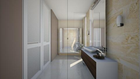 Bathroom alt closet - Minimal - Bathroom  - by gerlukavich