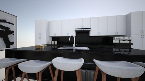 Modern Kitchen - Modern - Kitchen - by Georgiaandres