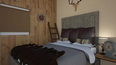 Western Bedroom - Bedroom  - by laurendesigns20