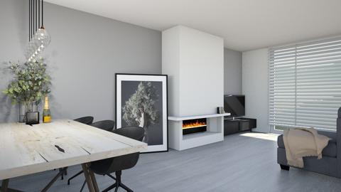 Light living - Living room  - by Noa Jones