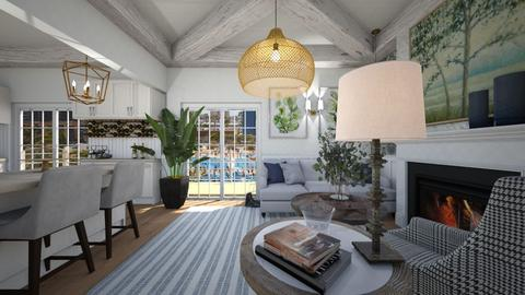 Apartment in California - Living room  - by heynowgregory