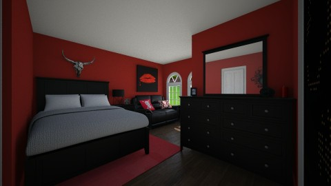 Rockstar - Bedroom  - by hwoodward1