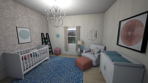 Sophie Nursery  - Kids room  - by LHSHousing