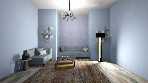 baby blue room - Living room  - by jmeyer2x4