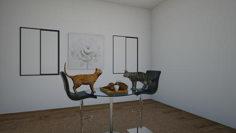 cat - Dining room  - by mrandaw