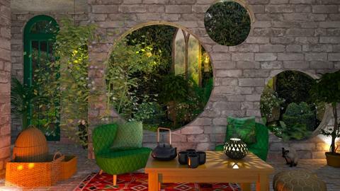 Garden room  - by Yavanna