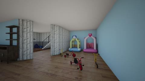 Duplex for M Living Room2 - Kids room  - by MSchrive