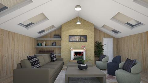 slope - Living room  - by steker2344