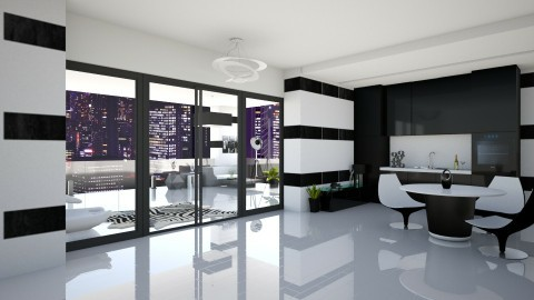 P A N D A - Modern - Kitchen  - by xrhstos