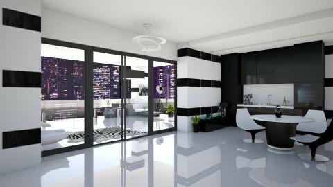 P A N D A - Modern - Kitchen  - by xrhstos