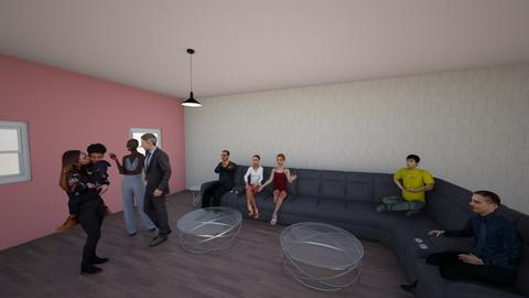 Framily get together - Modern - Living room - by _laurenzooo