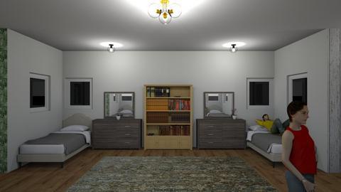Bedroom_123 - Bedroom  - by new to room styler