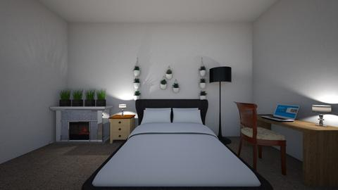 Bedroom for everyone - Modern - Bedroom  - by Amelia i Szymon