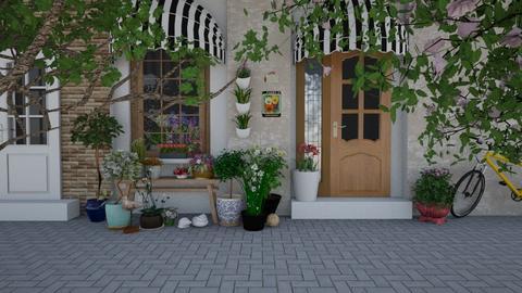 Flower shop - by Thrud45