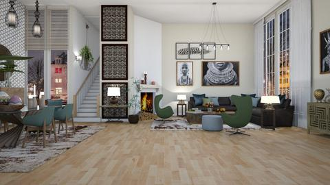 Green Egg - Modern - Living room  - by janip