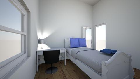 3d bedroom - Rustic - Bedroom  - by golinc24