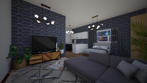 studio apartment - by eby_bond
