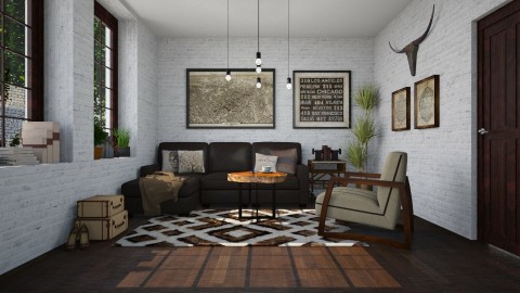 Brownie - Living room - by meggle