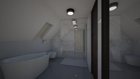 Lazienka  - Bathroom  - by Bernadeta Neubert