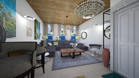 Sea Breeze - Living room - by LilDebbieFrmDwnDaStreet