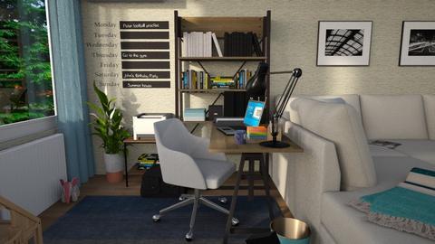 HomeOffice - Classic - Living room - by edDesign