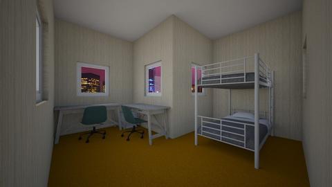 dumble kids room - Bedroom  - by HazelSaideGIRL