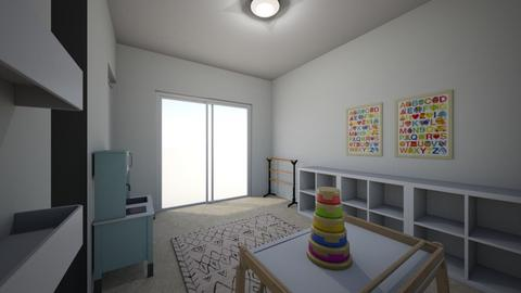 Noa Ashkenazi 4 - Kids room  - by erlichroni