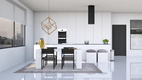 Minimalistic Kitchen - Minimal - Kitchen  - by HenkRetro1960