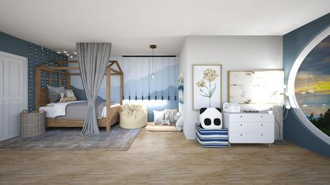 contest_ calming kids  - Kids room  - by Feeny