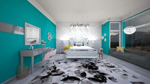 bedroom - by jennatuttle