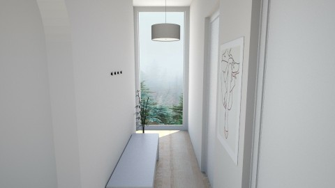 Entrance Hallway - Minimal - by daniellelouw