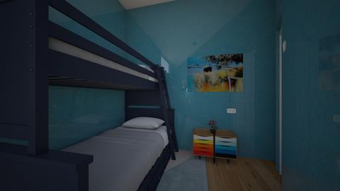 Boys room 2 - by saratevdoska
