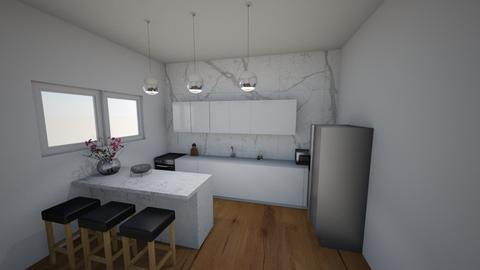 Small and modern kitchen  - Modern - Kitchen  - by ana pogorelec