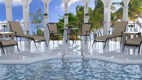 Hotel Pool Template - by milica tanurdzic