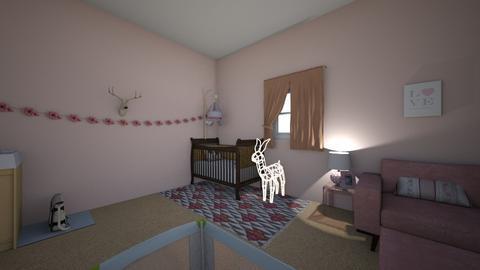 nursery  - Modern - Kids room  - by ericagrace896