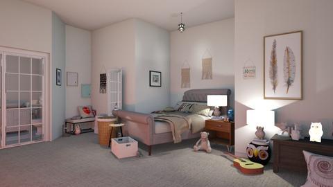 Happy Birthday Mom - Modern - Bedroom  - by matildabeast