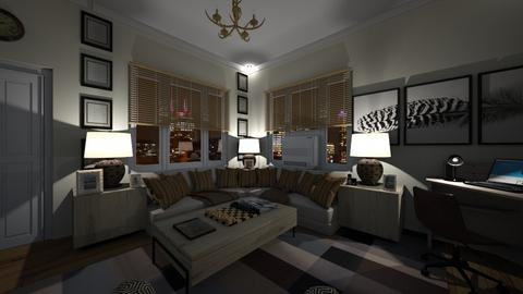 Corner Sofa - Living room  - by SammyJPili