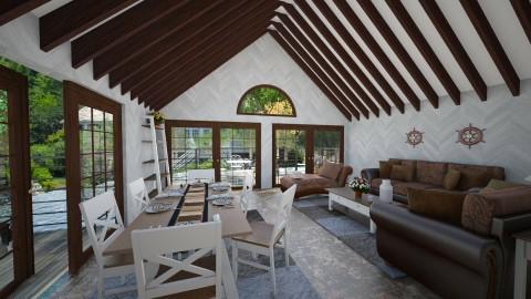 Lake house - Minimal - Living room  - by Brubs Schmitt