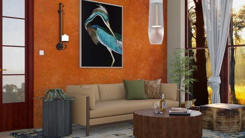 M_ Slash - Living room  - by milyca8