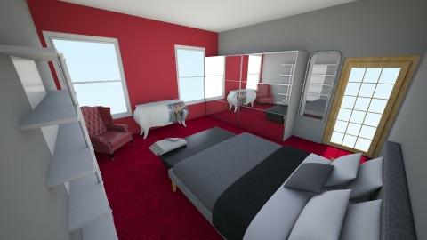 bedroom - by kanka1390