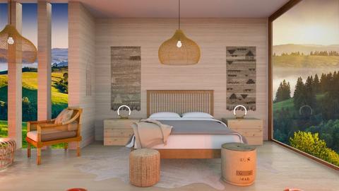 Feng Shui - Bedroom  - by Feeny