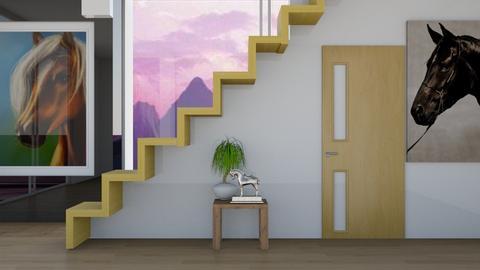hallway - Living room - by horseygirl Xx