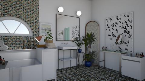 Simple Bathroom - Bathroom - by mrsbadazz2016