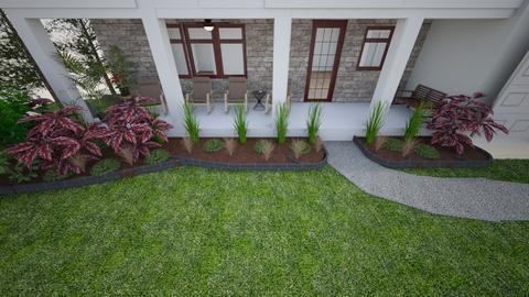 Monica Front  - Garden  - by rexwood