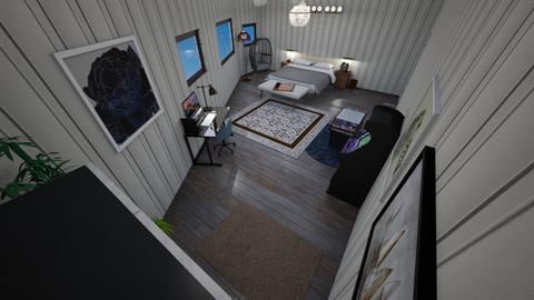 My dream bedroom - Masculine - Bedroom  - by KiraxoDeAlfonso